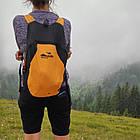 Складаний кишеньковий рюкзак 13л Tramp ULTRA. Складной карманный рюкзак 13л. Ручна поклажа, фото 8