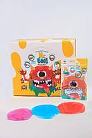 """Слайм Slime-gum """"Mr.Boo"""" микс цветов 40г., в пак.14*9см., ТМ ОКТО(50шт) (A80001)"""