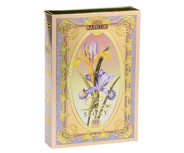 Чорний чай Basilur Любовна історія - Том II картон 75 г