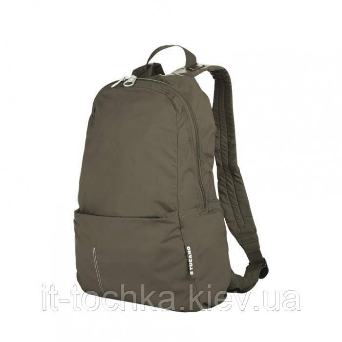 Рюкзак міський tucano bpcobk-vm хакі compatto xl на 25 літра