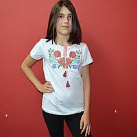"""Вишита футболка для дівчинки """"Зоряна"""""""