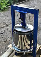 Пресс ручной механический 25л с домкратом, давление 5 тон, гидравлический. Для яблок, винограда, сыра и тд.