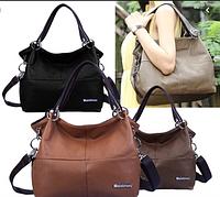 Кожаная женская сумка через плечо, сумочка Weidipolo, ВейдиПоло