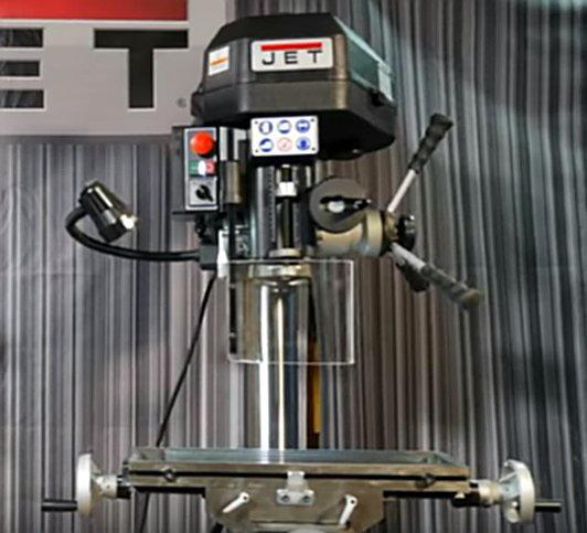 Фрезерно-сверлильный станок JET JMD-18PF (350051M)