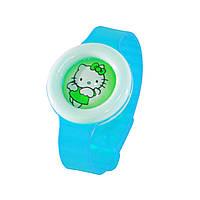 🔝 Детский антимоскитный браслет (репеллент) от укусов комаров   bikit monster - цвет голубой   🎁%🚚