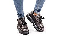 Кроссовки женские на платформе  36-40 никель