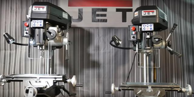 Фрезерно-сверлильный станок JET JMD-18PF