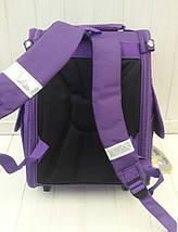 Школьный ортопедический рюкзак с принтом сова для девочки 1-4 класс 32*26*16 см, фото 3