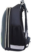 Школьный каркасный ранец с гоночным авто для мальчика  38*29*15, фото 2