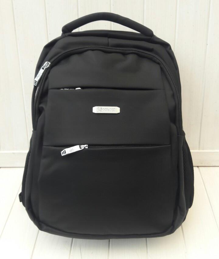 Черный школьный рюкзак для мальчика подростка 42*28*13 см