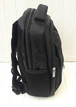 Черный школьный рюкзак для мальчика подростка 42*28*13 см, фото 2