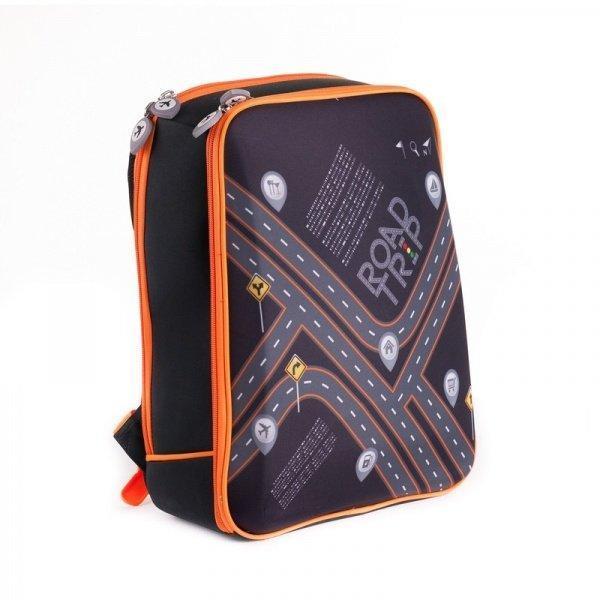 Каркасный школьный рюкзак с ортопедической спинкой для мальчика38*28*13