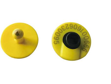 Транспондеры, Ушные бирки HDX, FDX-B RFID для КРС, свиней, овец и коз, фото 2
