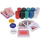 Набор для игры в Покер Texas Poker. 200 фишек., фото 2
