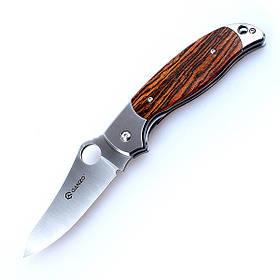Туристический складной нож Ganzo (ганзо) G7371-WD1 (Дерево)