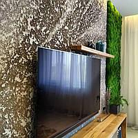 Стена из  мха