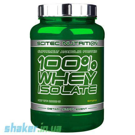 Сывороточный протеин изолят Scitec Nutrition 100% Whey Protein Isolate (2 кг) скайтек вей  coconut