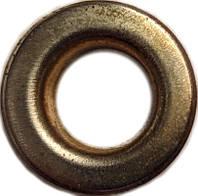Люверс 4мм Золото плоский №4 Китай, фото 1