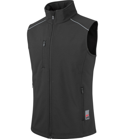 Жилет WM Softshell Weste City Black
