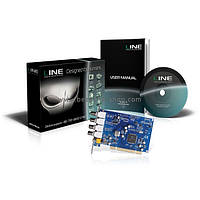 Плата відеореєстрації Line PCI 4x8 для систем відеоспостереження