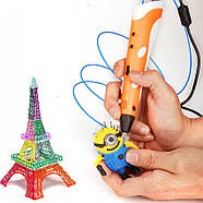 Детская 3д ручка c LCD дисплеем, 3D ручка My riwell 3d Pen 2, фото 3