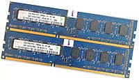 Оперативная память Hynix DDR3 4Gb (2Gb+2Gb) 1333MHz PC3-10600U 2R8 CL9 (HMT125U6TFR8C-H9 N0 AA-С) Б/У