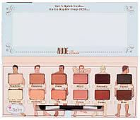 Палетка теней theBalm Nude Dude Palette, 9,6 г