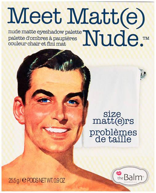 "Палетка теней theBalm Meet Matte Nude ""Size Matters"", 25,5 г, фото 2"