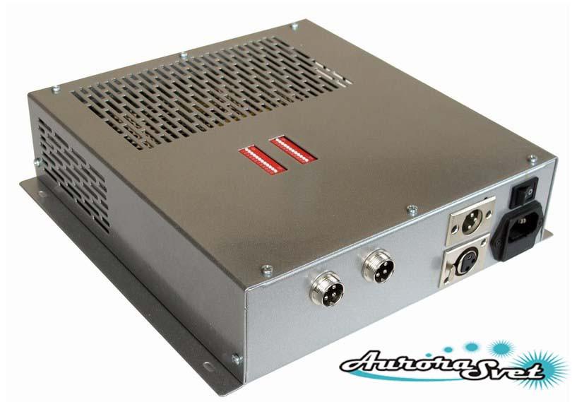 БУС-3-02-100 блок управления светодиодными светильниками, кол-во драйверов - 2, мощность 100W.