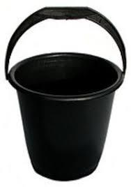 Ведро 10л  (Ю) черное