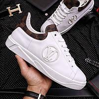 Мужские кеды Louis Vuitton White, Реплика, фото 1