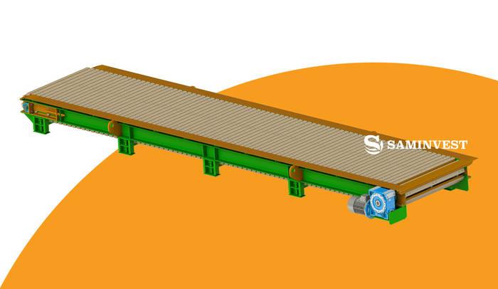Транспортер пластинчатый цена конвейерное оборудование каталог