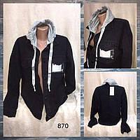"""Куртка-MOM джинсовая женская, съемный капюшон, размеры M-2XL """"Jeans Style"""" недорого от прямого поставщика"""