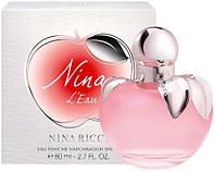 Женская туалетная вода Nina Ricci Nina L'Eau 80 мл   ), фото 1