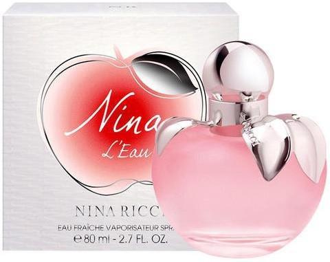 Женская туалетная вода Nina Ricci Nina L'Eau 80 мл   )