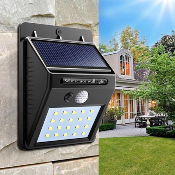 Cветильник LED наружного освещения Solar Motion Sensor с датчиком движения на солнечных батареях
