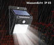 Cветильник LED наружного освещения Solar Motion Sensor с датчиком движения на солнечных батареях, фото 8