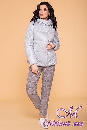 Женская осенняя куртка с капюшоном (р. S, M, L) арт. Рито 6779 - 41909, фото 2