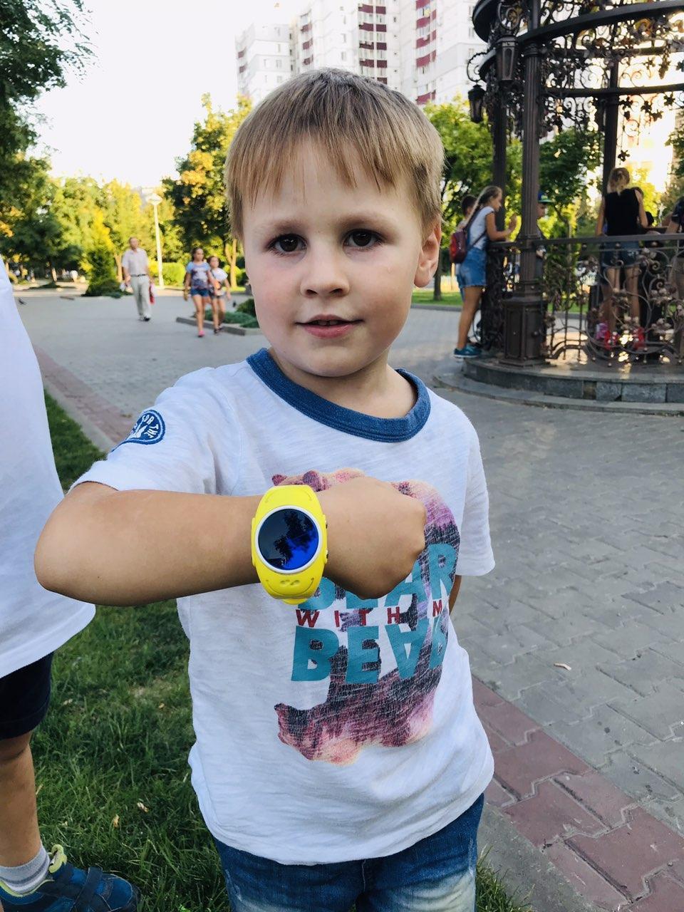 Детские водонепроницаемые умные часы-телефон с GPS трекером Baby Smart Watch GW300s Original