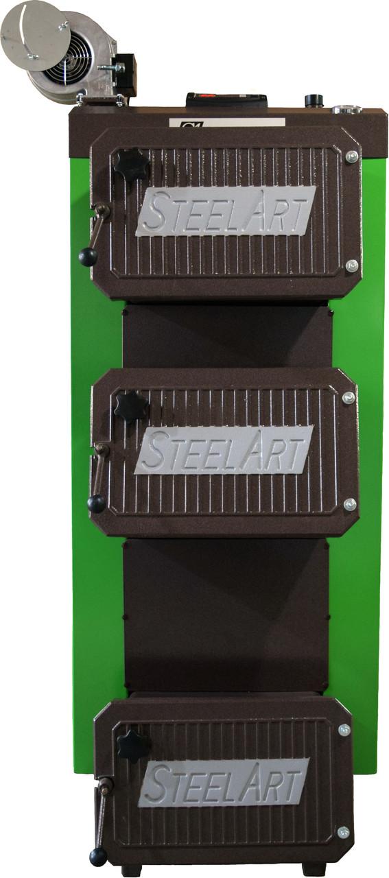 Котел твердотопливный длительного горения SteelArt SA-25 кВт