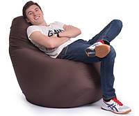 Кресло Мешок Груша 150х100см Ткань Оксфорд Коричневый
