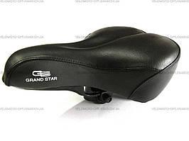 Комфортное велоседло GrandStar, отличное качество, original