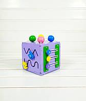 Развивающая игрушка Мини бизикуб Mini Busy Cube Tornado Фиолетовая