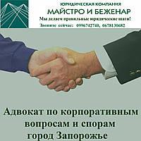 Адвокат по корпоративным спорам Запорожье
