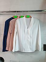 """Блузка женская нарядная с планкой, размер S-L (3цв) """"MONRO"""" купить недорого от прямого поставщика"""