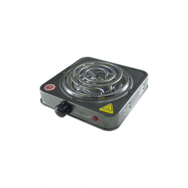 Спиральная электрическая плита Domotec MS-5801 (1000 Вт)