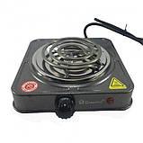 Спиральная электрическая плита Domotec MS-5801 (1000 Вт), фото 3