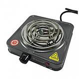 Спиральная электрическая плита Domotec MS-5801 (1000 Вт), фото 2