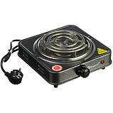 Спиральная электрическая плита Domotec MS-5801 (1000 Вт), фото 4