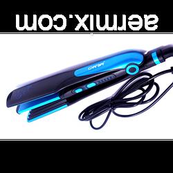 Утюжок для волос Gemei GM 1961 плойка 2 в 1 щипцы выравниватель волос с эффектом гофре